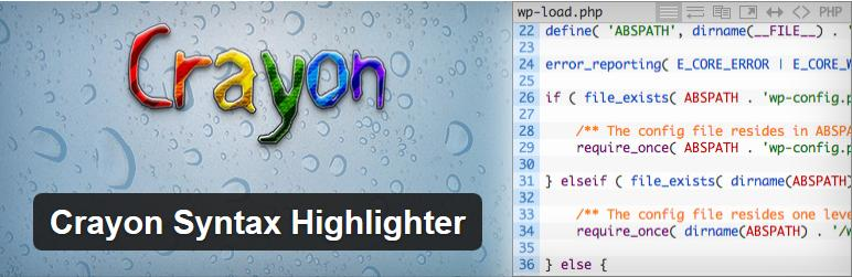 Crayon Syntax Highlighter 使い始めました
